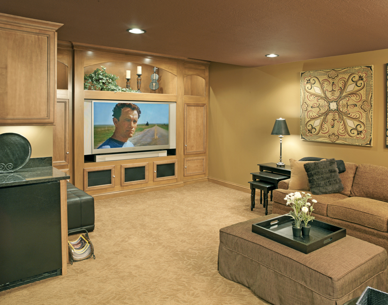 Bat Family Room And Home Theater