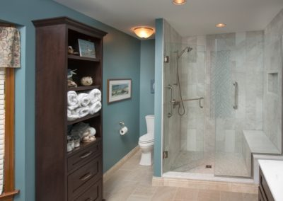 Shower and Water closet After